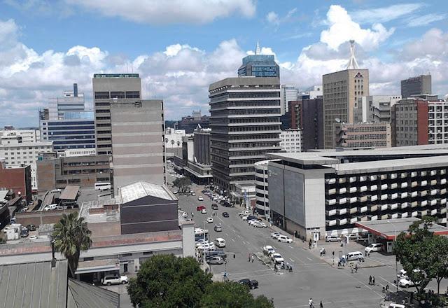 Foto da cidade de Harare – Zimbábue