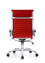 Red Leather Office Chairs at OfficeAnything.com