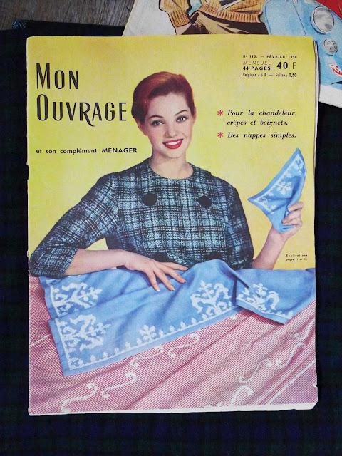 "magazine ""mon ouvrage"" 1958"