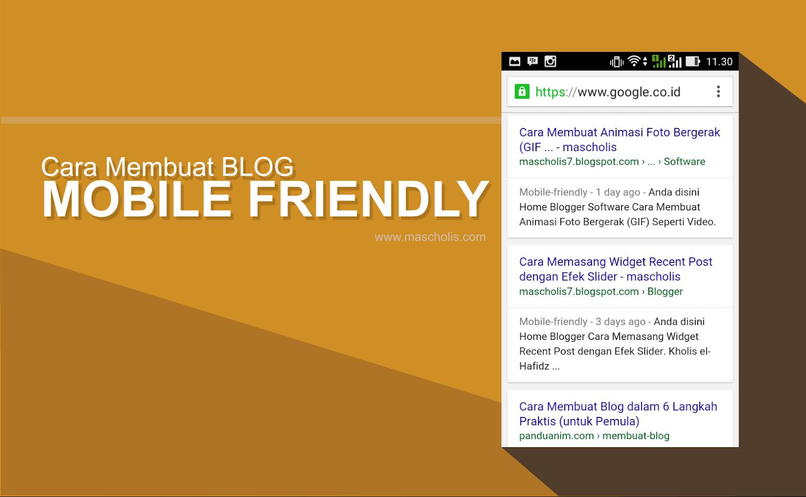 Cara Mudah Membuat Blog Menjadi Mobile Friendly