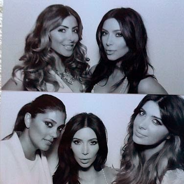 Kim Kardashian arranged bachelorette party Parisian style