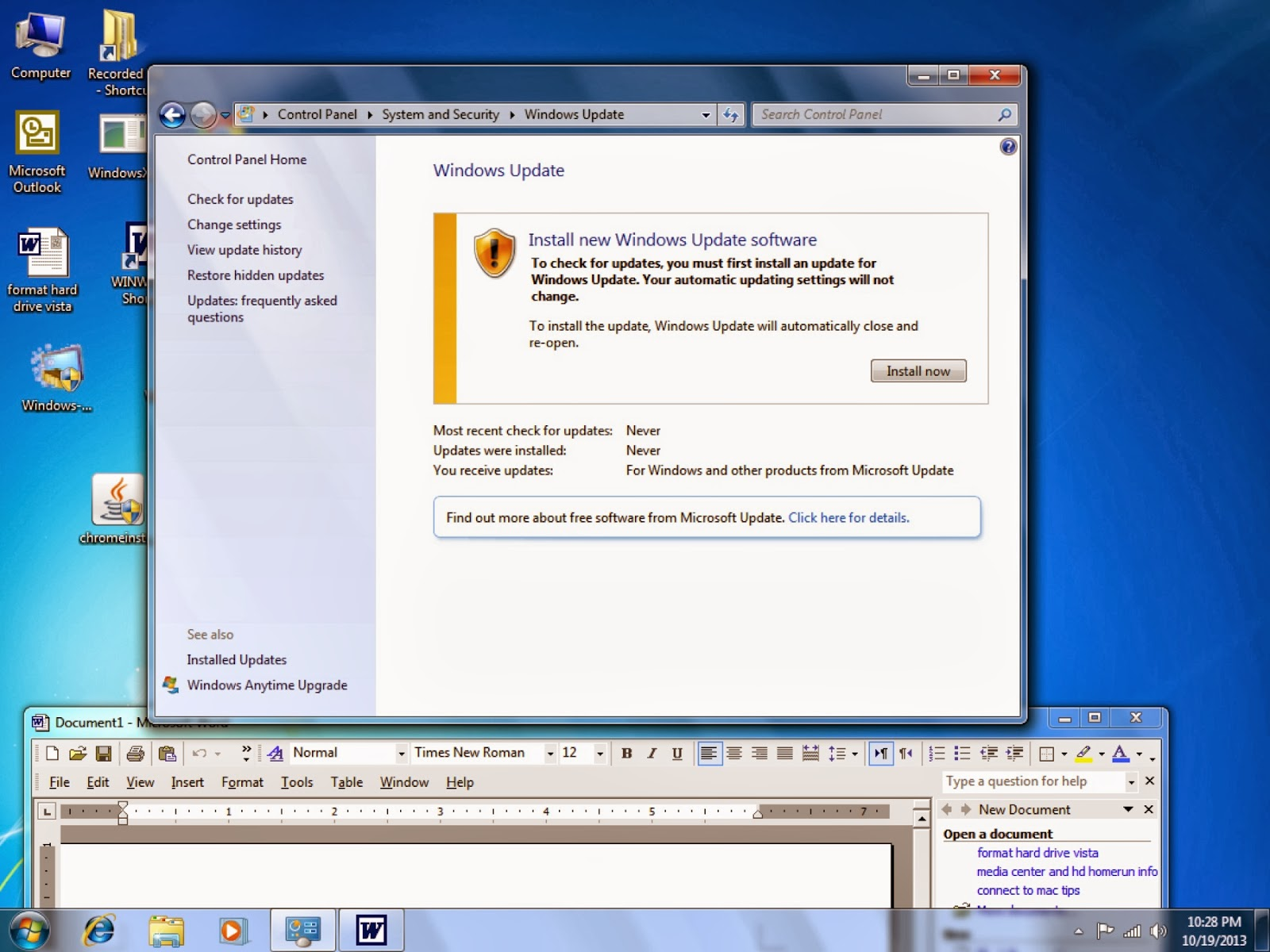 Pictures of Windows 7 Error - #rock-cafe
