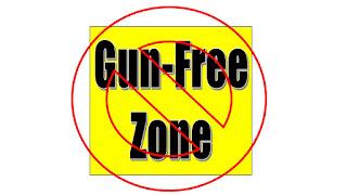 Anti Gun Control Arguments Photo of image with text Ban Gun Free Zones