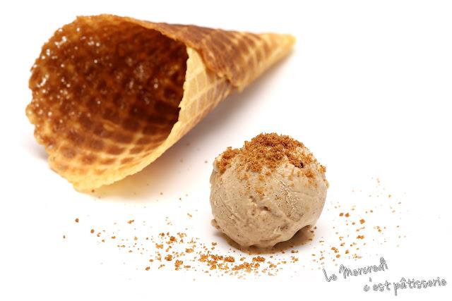 Crème glacée au Speculoos de Cyril Lignac