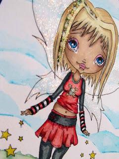 oddballart digi stamp lizzy love fairy