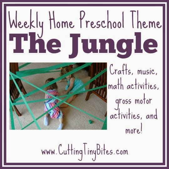 Jungle Theme Weekly Home Preschool What Can We Do With