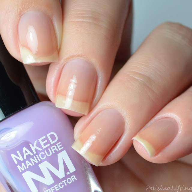 lavender color correcting nail polish