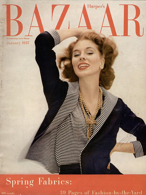 Fashion Magazine Covers From 1940s-1950s