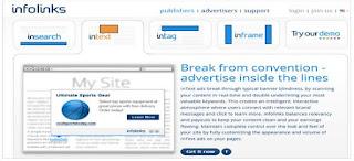 Infolinks Alternatif AdSense Terbaik Untuk Blogger