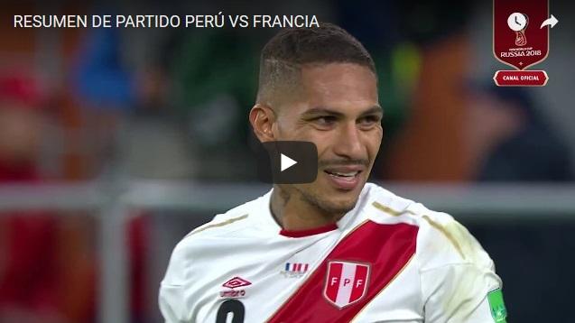Perú perdió ante Francia