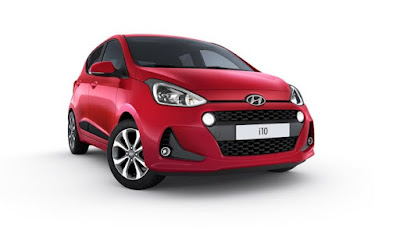 New 2017 Hyundai Grand i10 Facelift Red Wallpaper 02