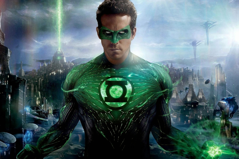 Superhero lemah tanpa kekuatan super Green Lantern