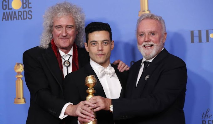 """Bohemian Rhapsody"" gana a Mejor Película - Drama | Golden Globes 2019"