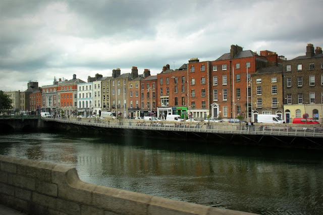 buildings across the river, Dublin