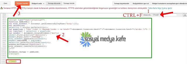 Otomatik Kaynak Link Kodu Ekleme