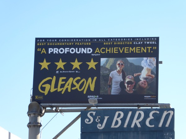 Gleason documentary consideration billboard