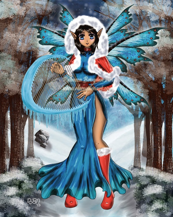 Winter's Song by Enchanted Visions Artist Rebecca Brogden N.