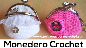 Monedero Crochet / Tutorial en video
