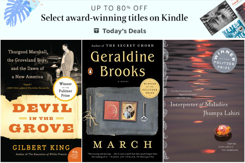 Amazon: Up to 80% Off Award-Winning Titles!