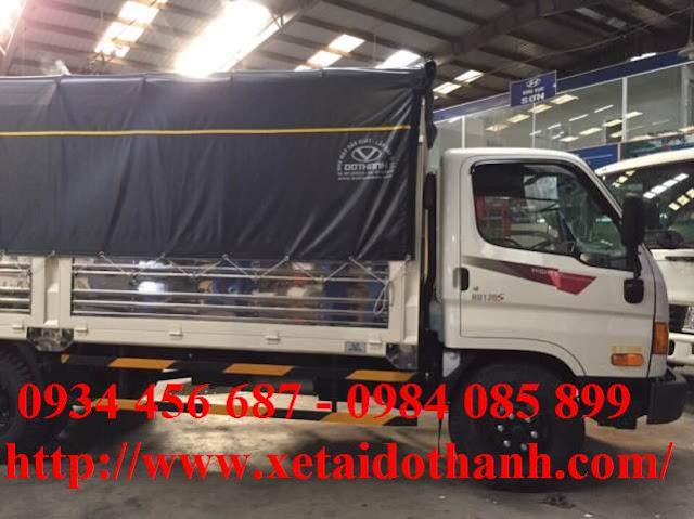 Hyundai Đô thành HD120s thùng bạt