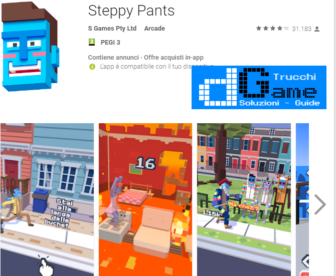 Trucchi Steppy Pants Mod Apk Android v1.6.2