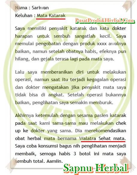 Obat Selulitis Orbitalis Tradisional yg TERBUKTI Manjur !!
