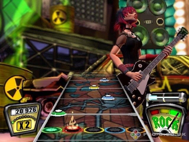 Guitar Hero PS2 GAME ISO Screenshot 2