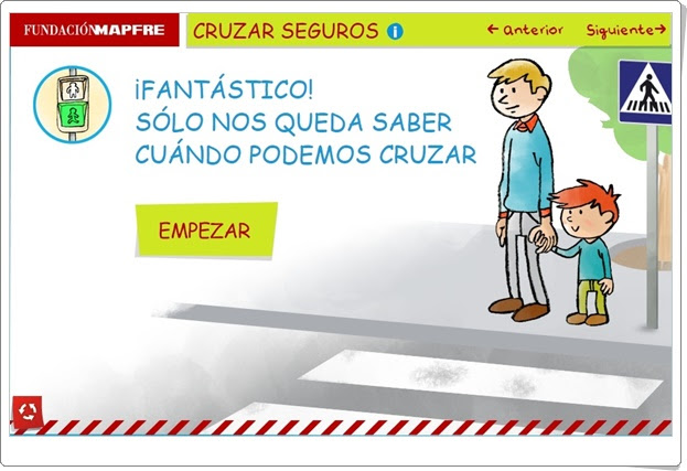 CRUZAR SEGUROS (Actividad Interactiva de Educación Vial)