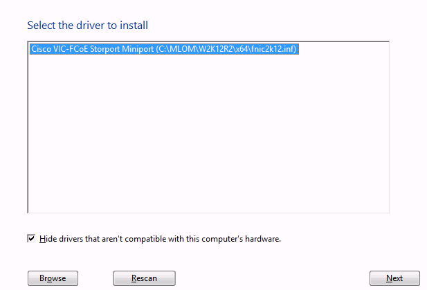 My way   : Windows Server 2012 R2 booting from SAN - Cisco