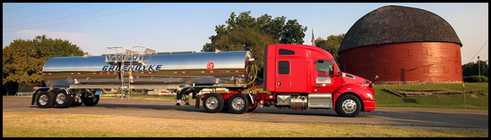 Groendyke Kenworth T680 with 76 inch Mid-Roof Sleeper