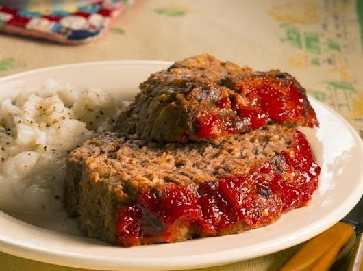 Meatloaf, the traditional food of America