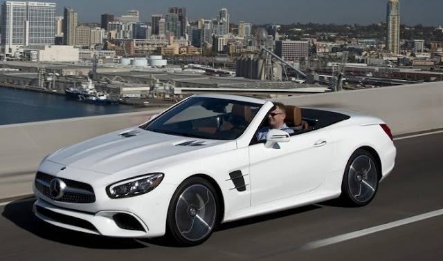 Mercedes SL 400 là một chiếc Roadster huyền thoại với thiết kế thể thao