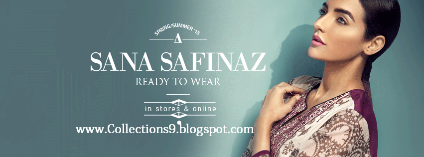 Sana Safinaz Spring Summer Collection 2015 For Girls