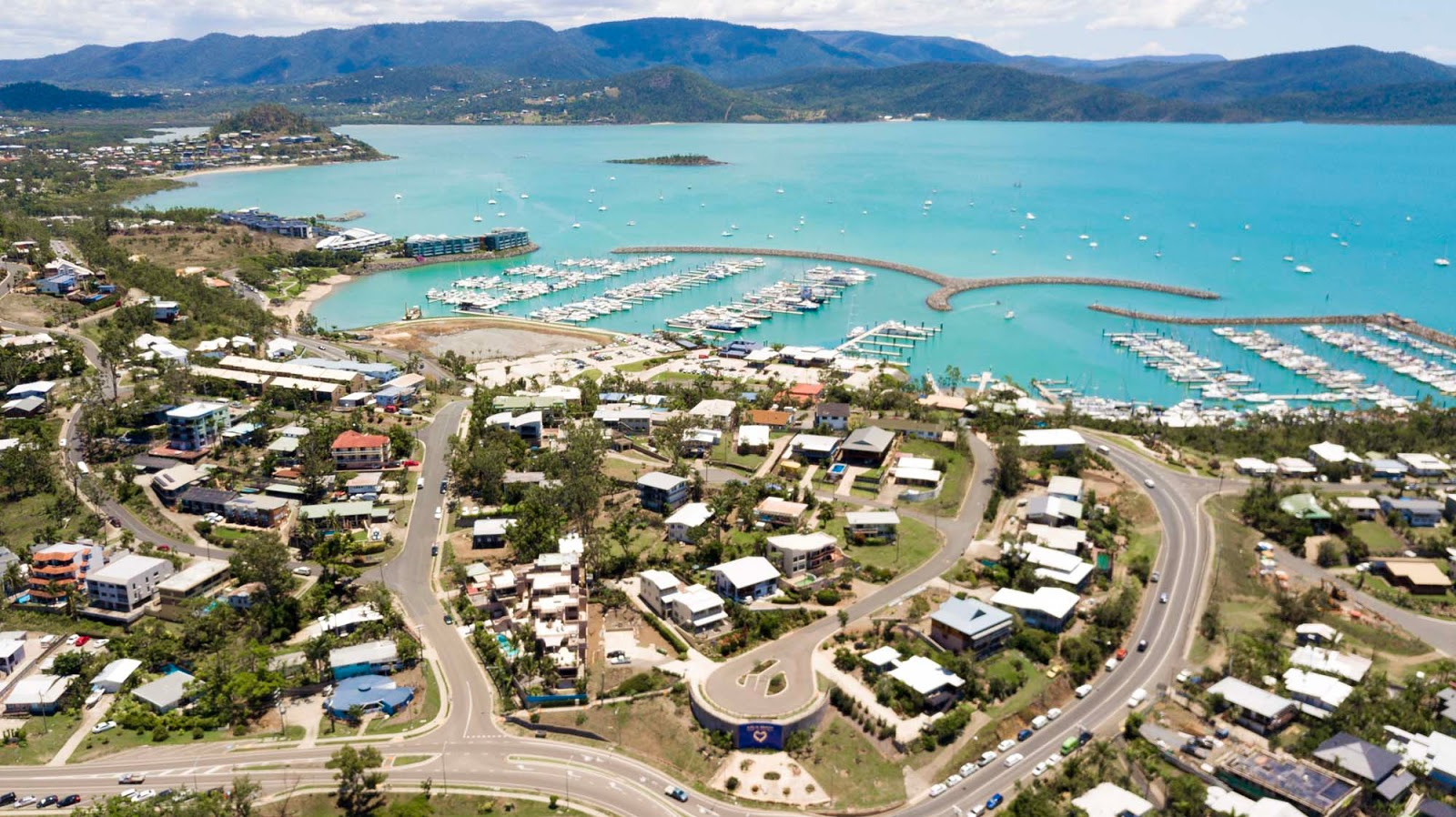 views over airlie beach