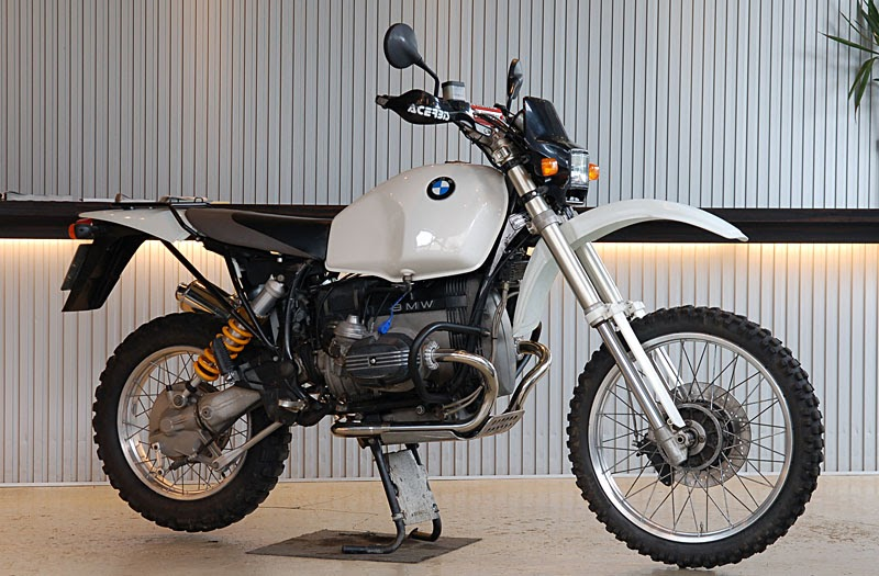 Racing Caf       BMW    R 100    GS    by Ritmo Sereno