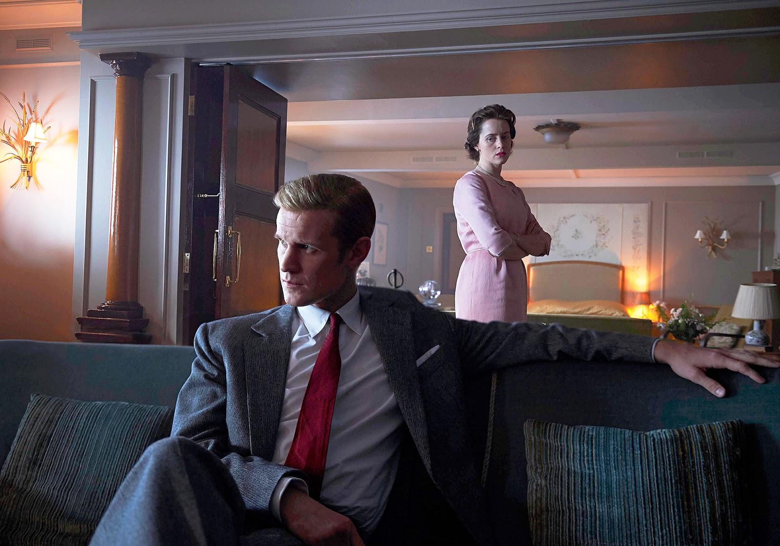 Philip y Elizabeth deben afrontar sus problemas en  'The Crown'
