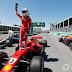 Depois de 17 anos, Ferrari volta a largar na pole em Montreal com Sebastian Vettel