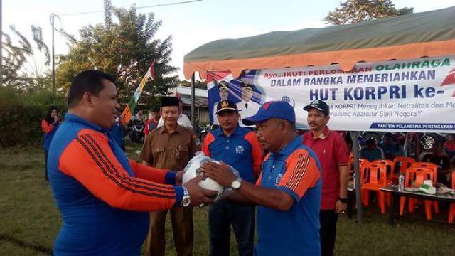 HUT Korpri di Aceh Jaya Meriah