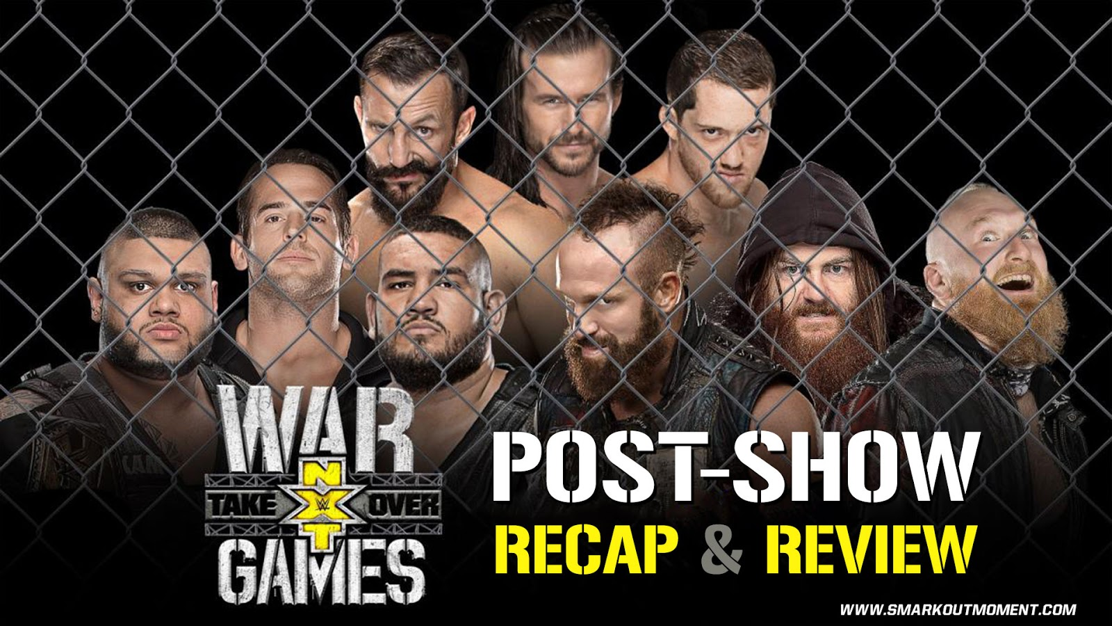 WWE NXT TAKEOVER: WARGAMES Recap and Review Podcast