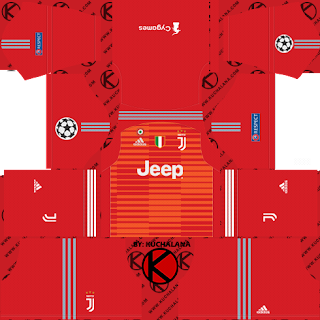 Juventus 2018/19 UCL Kit - Dream League Soccer Kits