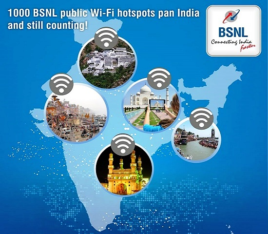 BSNL revises prepaid WiFi Hotspot plans by increasing validity up to 833% and introduces new WiFi plans from Rs 10/- on wards