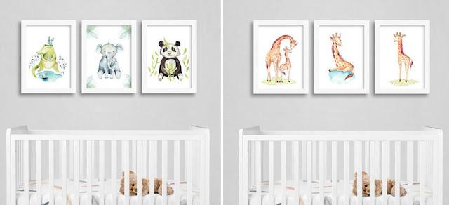 Quadros no quarto do bebê: como usar de maneira criativa?