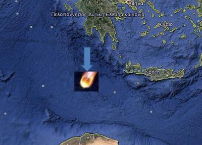 """Είναι αλήθεια η """"παρολίγον καταστροφή"""" της Πελοποννήσου και της Κρήτης το 2002 από μετεωρίτη;"""