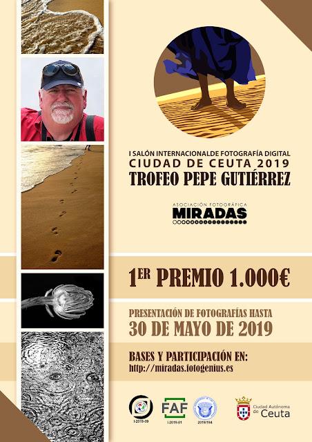 I Salón Internacional de Fotografía Ciudad de Ceuta - Trofeo 'Pepe Gutiérrez'