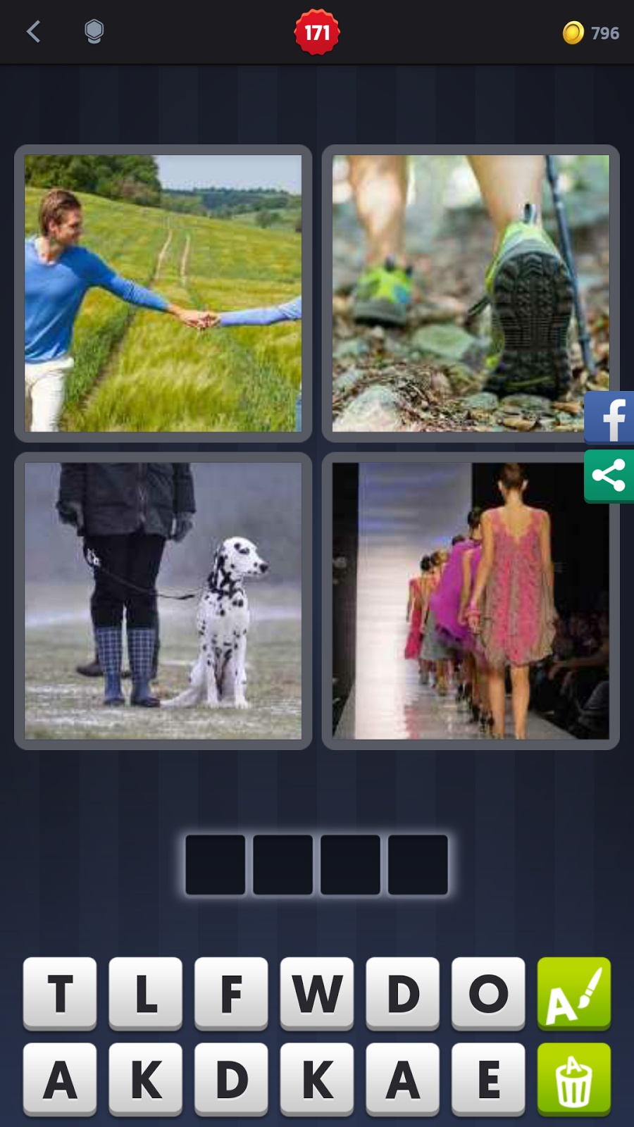 4 pics 1 word answers solutions level 171 walk level 171 walk answer walk keyword 4 letter word expocarfo Images