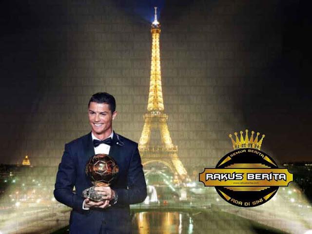 Ronaldo Dapatkan Ballon d'Or 2017, Samai Rekor Messi