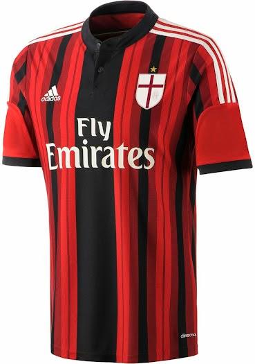 Jersey AC Milan 2015 Terbaru