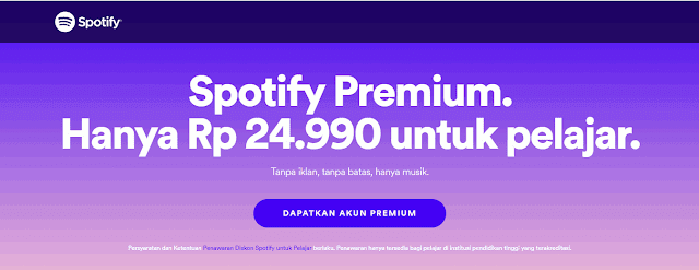 Diskon Spotify