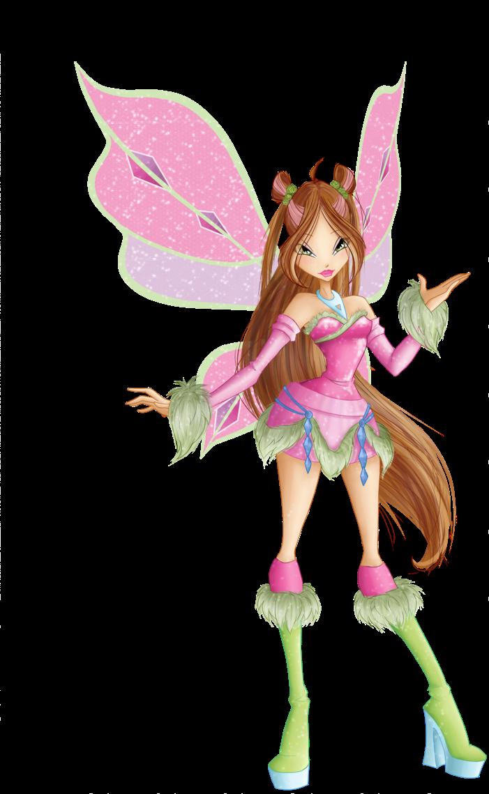 Winx Club Fairies: Flora Transformation Photos