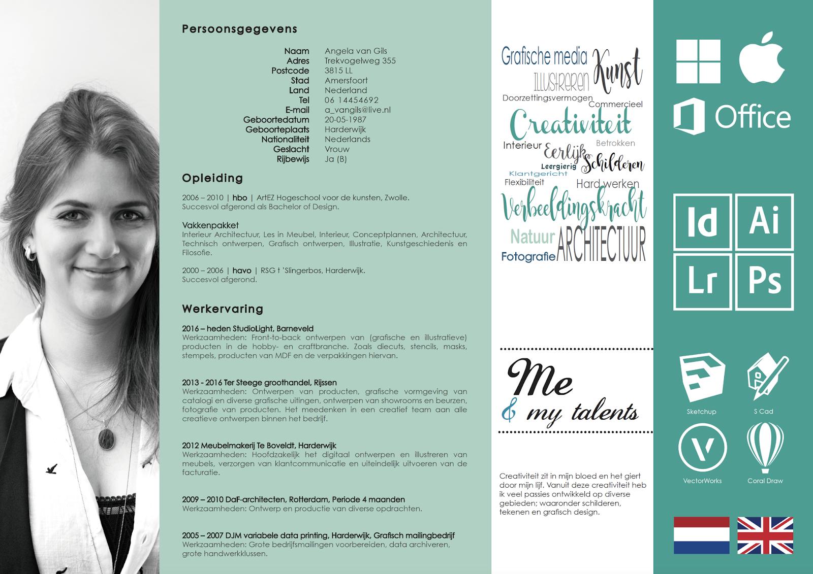 Van Gils Meubels : Angela van gils designs curriculum vitae